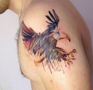 imagenes de aguilas para tatuajes para hombres