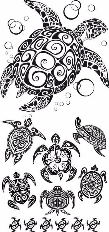 plantillas de tatuajes para el brazo con animales