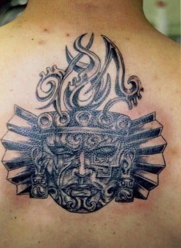 tatuajes aztecas para hombres originales