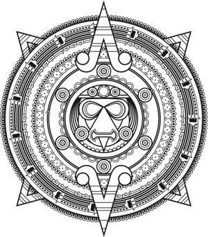 tatuajes de simbolos mayas de proteccion