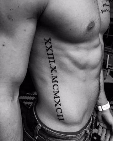 tatuajes guapos para hombres con letras