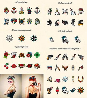 tatuajes old school diseños y dibujos