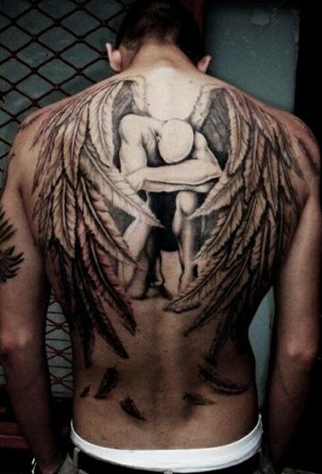 lugares del cuerpo para tatuarse espalda
