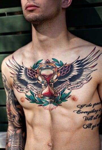 tatuajes de colores para hombres los mejores