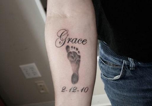 bebé tatuajes