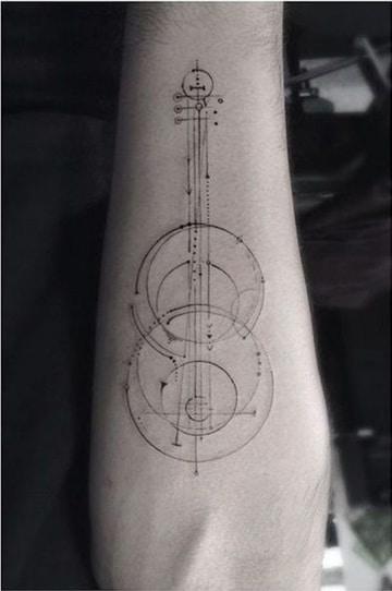 tatuajes de musica para hombres imagenes