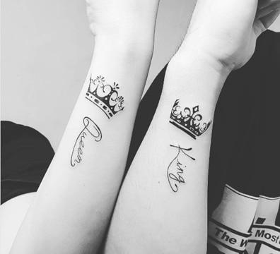 dise os de tatuajes de rey y reina para hombres y mujer. Black Bedroom Furniture Sets. Home Design Ideas