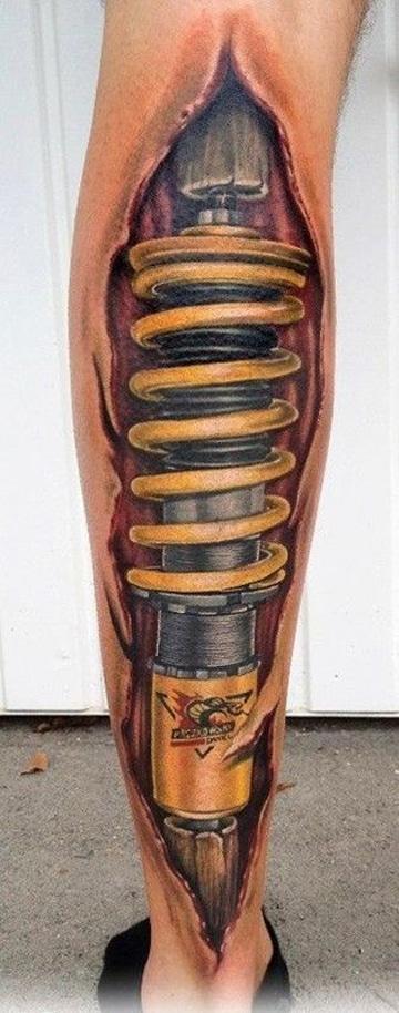 tatuajes en el chamorro para hombre interior