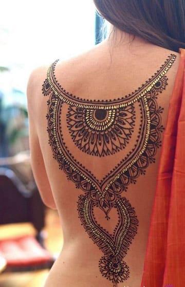 tatuajes hindues para mujer simbolos
