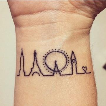 tatuajes simples para hombres lugares