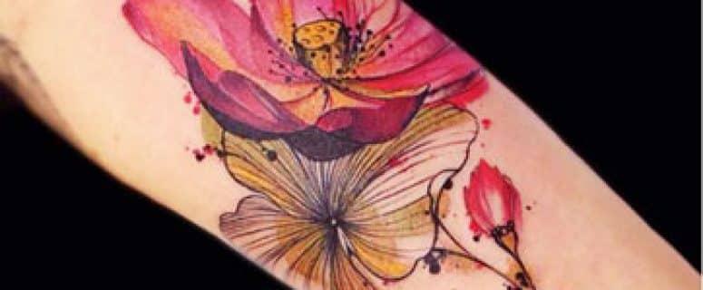 Flores Hawaianas Tattoo Interesting Sea Cual Sea El Significado Que - Flor-hawaiana-tattoo