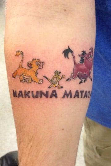 tatuajes de dibujos animados para hombres