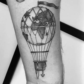 tatuajes de globos aerostaticos significado