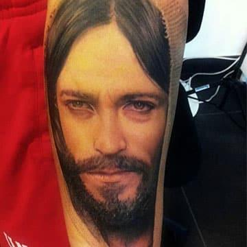 tatuajes de jesus en 3d de nazareth