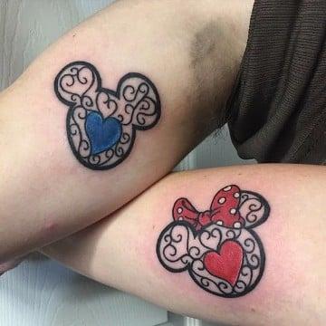 Significado De Tatuajes De Mickey Y Minnie Mouse Para Novios