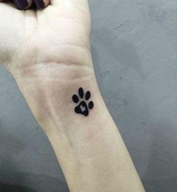 tatuajes de perros para mujeres pequeño