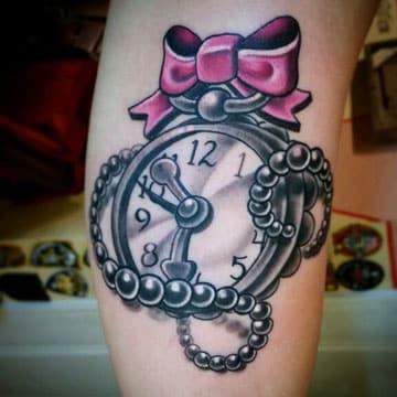 Significado De Tatuajes De Reloj Para Mujeres Y Brujulas