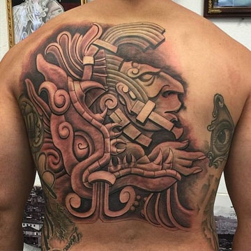 simbolos y letras en tatuajes mayas y su significado