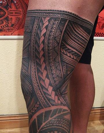 diseños de tatuajes maories para hombres