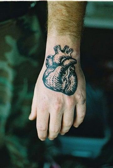 tatuajes de corazones en la mano significado