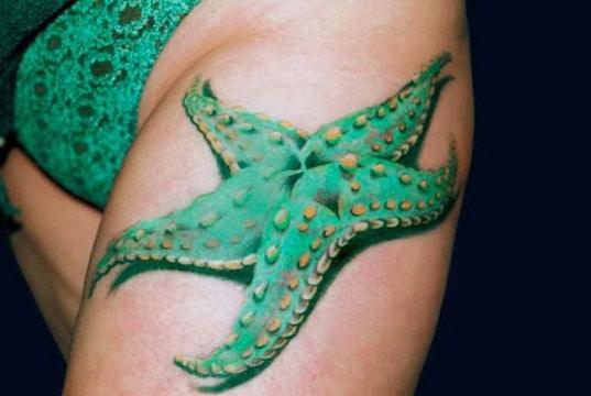 Esoterico Significado De Los Tatuajes De Estrellas De Mar