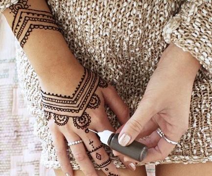 tatuajes de henna faciles ideas