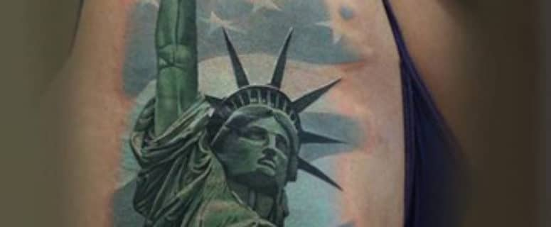 Tatuajes De La Estatua De La Libertad Para Hombres