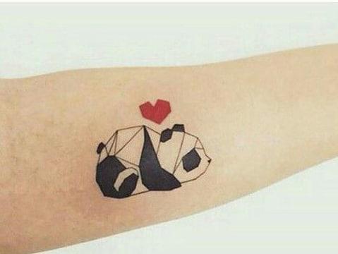 imagenes de pandas de amor geometrico