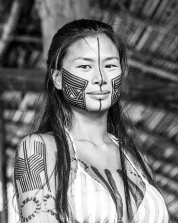 pintura corporal indigena femenina (1)