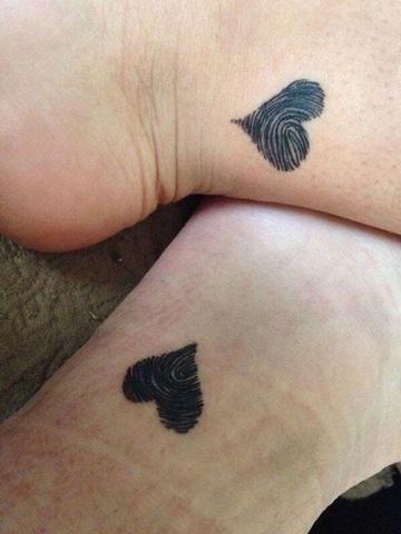 tattoos para parejas enamoradas super sencillos