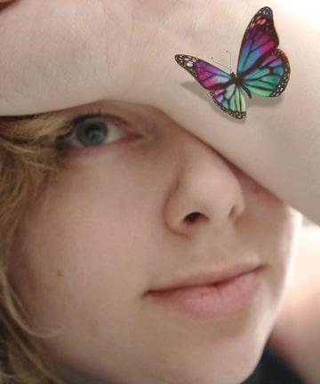 tatuajes 3d para mujeres de mariposa