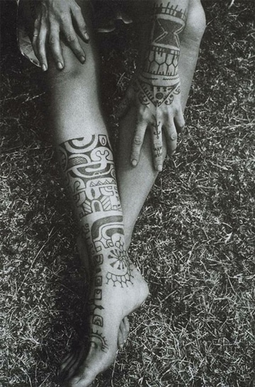 tatuajes aztecas para mujeres con simbolos