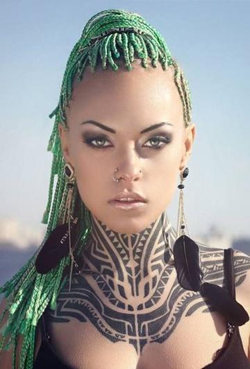 tatuajes aztecas para mujeres guerreras