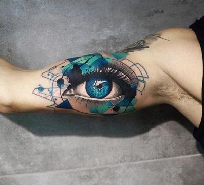 tatuajes chidos en el brazo a color