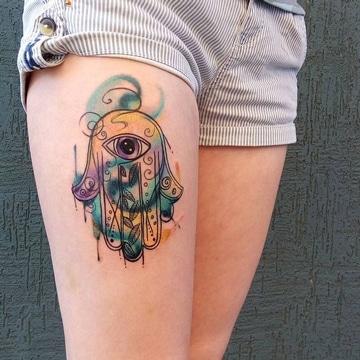 tatuajes de mandalas de proteccion para mujer