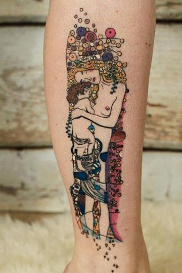 tatuajes dedicados a madres artistico