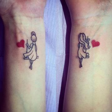 tatuajes que signifiquen amor y amistad