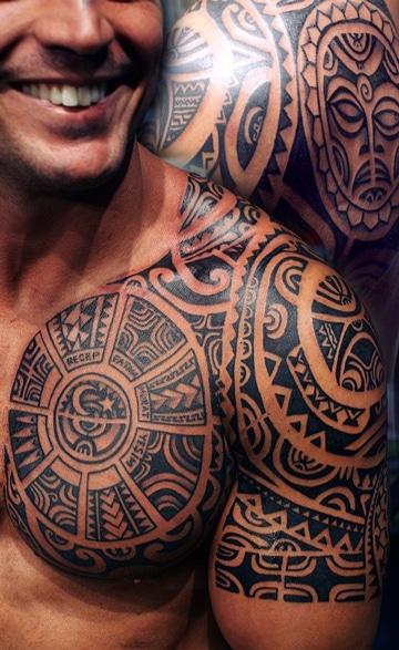 tatuajes tribales aztecas calendario