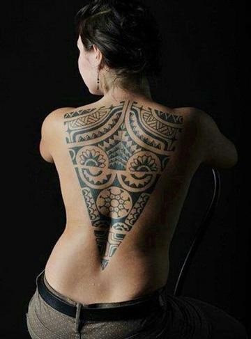 tatuajes tribales aztecas para mujer