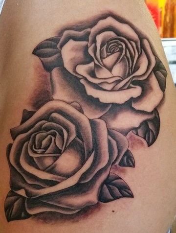 dibujos de rosas para tatuaje clasico