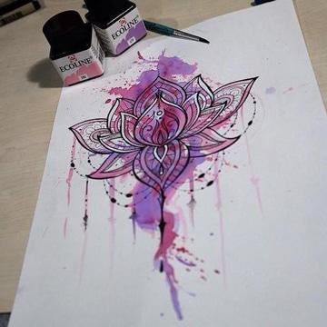 diseña tu propio tatuaje a color