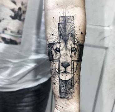 los mejores tatuajes en el antebrazo de animales