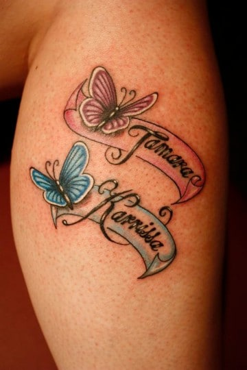 tatuajes de flores con nombres para mujeres