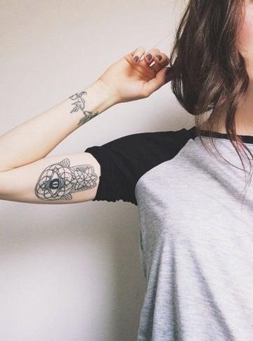 tatuajes en el biceps interior simbolicos