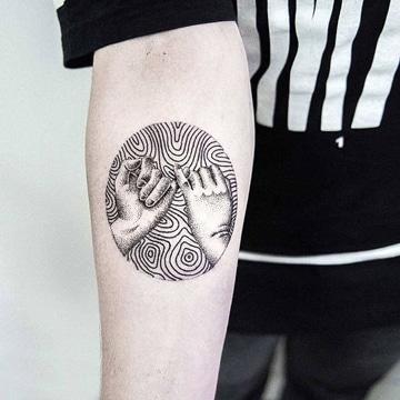 tatuajes que signifiquen amistad en brazo
