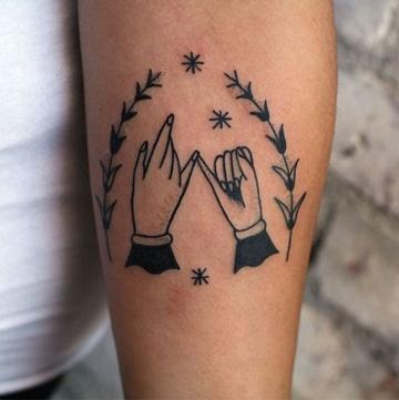 tatuajes que signifiquen amistad sencillos