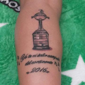 tatuajes copa libertadores ideas