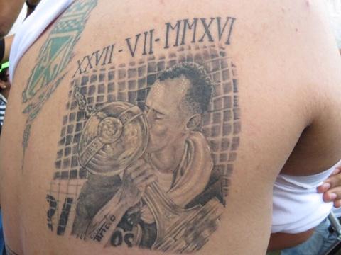 tatuajes copa libertadores para fanaticos
