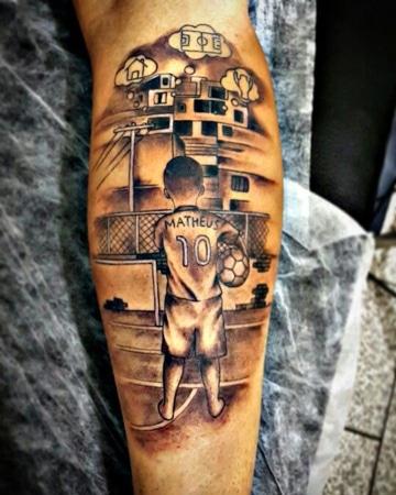 tatuajes de futbol para hombres ideas