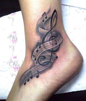 tatuajes de musica electronica para piernas
